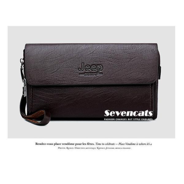 ハンドバッグ 財布 メンズ 長財布 ラウンドファスナー カード 収納 携帯 スマート 大容量 小銭入れ お札入れ 送料無料|sevencats|11