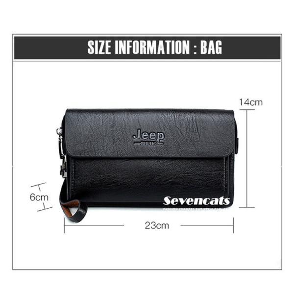 ハンドバッグ 財布 メンズ 長財布 ラウンドファスナー カード 収納 携帯 スマート 大容量 小銭入れ お札入れ 送料無料|sevencats|19