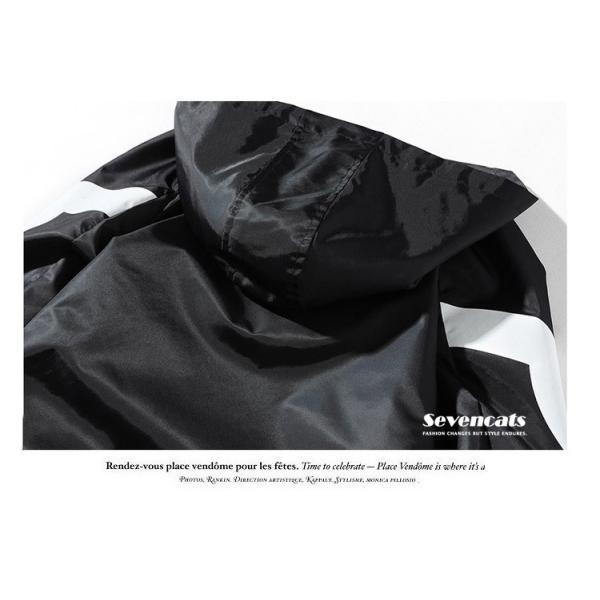 メンズ アウターコートトレンチコート  ジャケット ロング トレンチコート カジュアル パーカー 秋  メンズ スリム ジャケット2018新品|sevencats|12