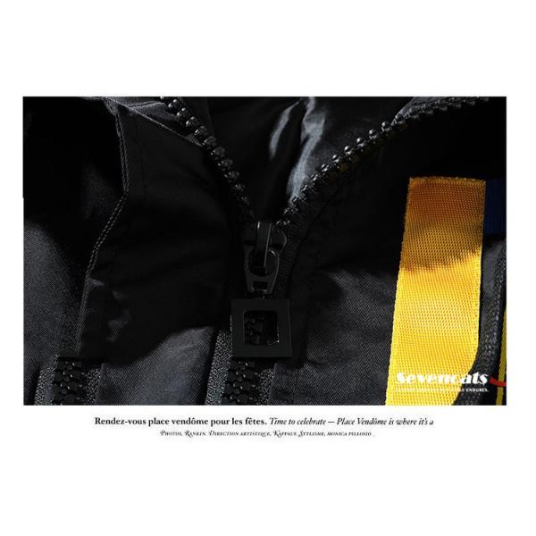 メンズ アウターコートトレンチコート  ジャケット ロング トレンチコート カジュアル パーカー 秋  メンズ スリム ジャケット2018新品|sevencats|14
