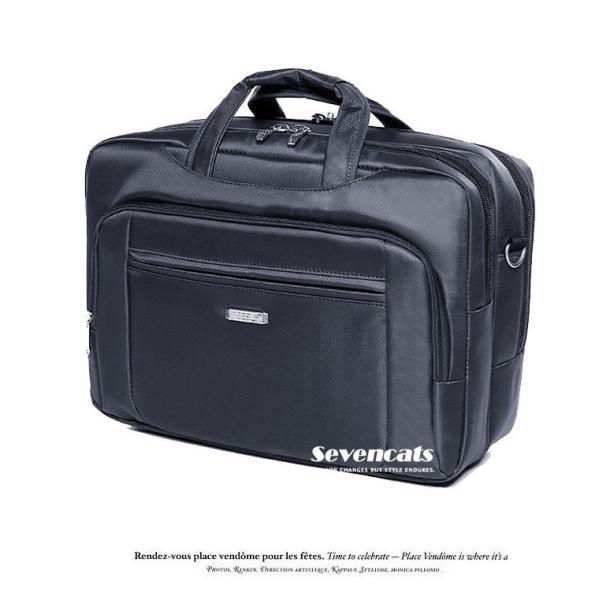 ビジネスバックメンズ3way多機能 大容量防水  通勤 A4 斜めがけ 手提げ ハンドバッグ カジュアルバッグ ショルダー|sevencats|04