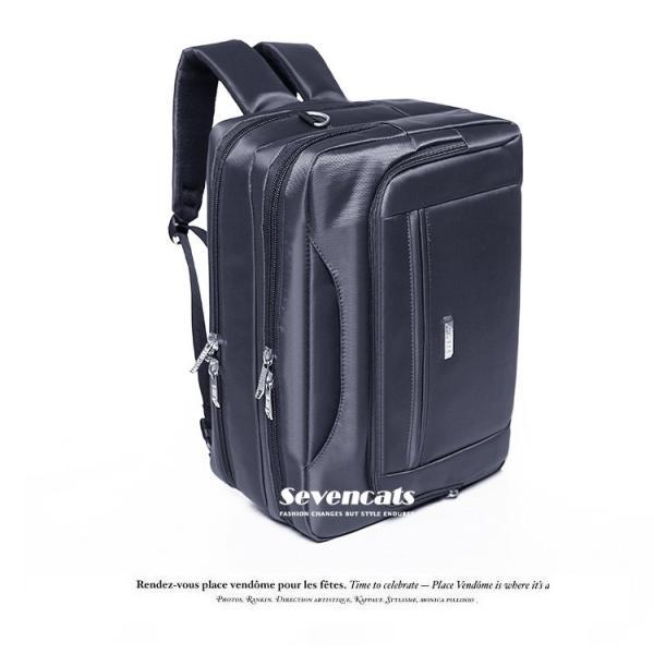 ビジネスバックメンズ3way多機能 大容量防水  通勤 A4 斜めがけ 手提げ ハンドバッグ カジュアルバッグ ショルダー|sevencats|06