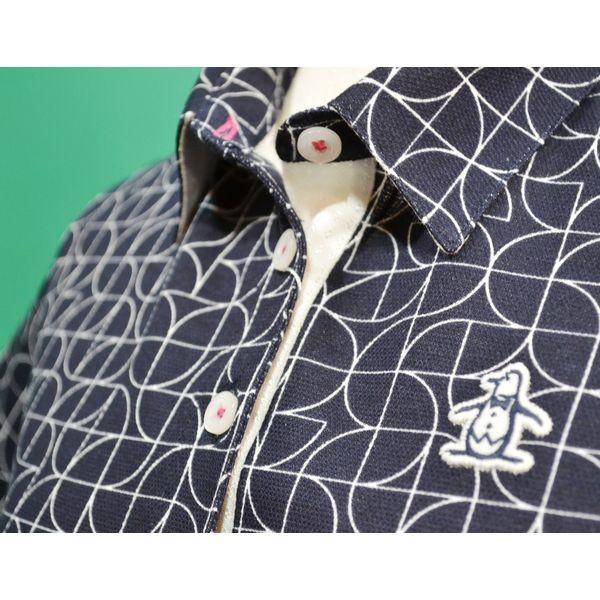 新作セール20%OFF マンシングウェア レディース ポロシャツ 半袖 2018春夏 ゴルフウェア 紺ネイビー MGWLJA02 日本製 sevenebisu-net 03