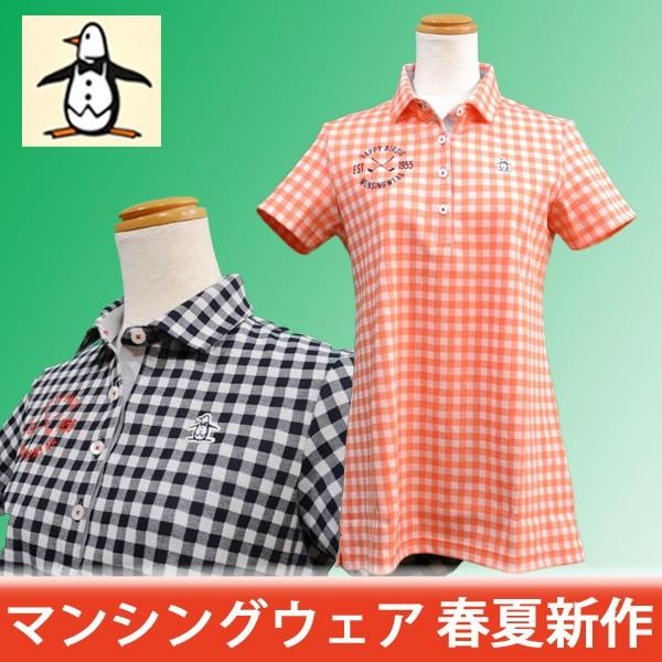 マンシングウェア レディース ポロシャツ チュニック丈 2018春夏 ゴルフウェア MGWLJA07 日本製|sevenebisu-net