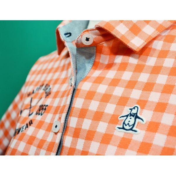 マンシングウェア レディース ポロシャツ チュニック丈 2018春夏 ゴルフウェア MGWLJA07 日本製|sevenebisu-net|06