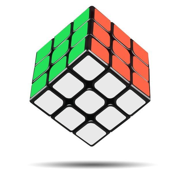 スピードキューブ 3x3x3 ルービックキューブ 競技用 ver.2.0 立体パズル 世界基準配色 ポップ防止 回転スムーズ