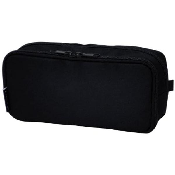 キュービックス ペンケース ラウンドジップ ボックス 106163-15(ブラック)