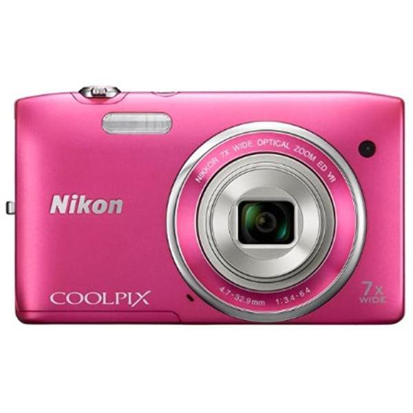 ニコン Nikon デジタルカメラ COOLPIX S3500 光学7倍ズーム 有効画素数 2005万画素  S3500PK [ストロベリーピンク] / COOLPIX S