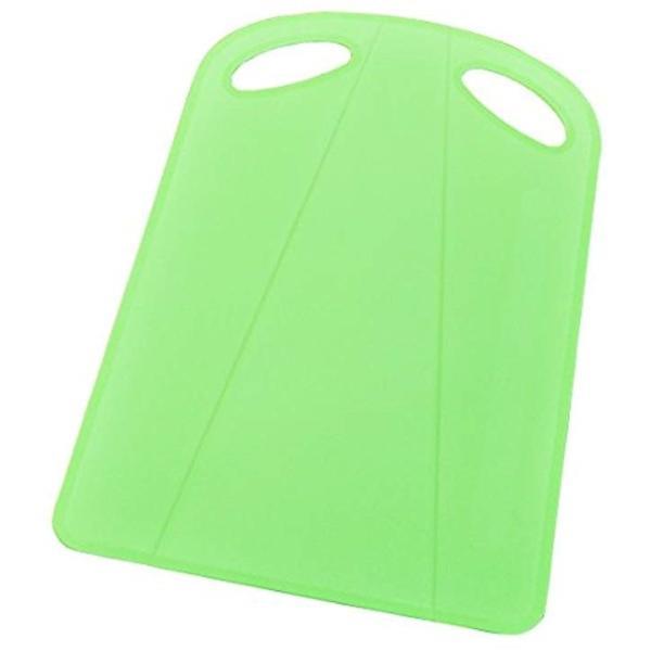 トンボ 折れる まな板 37×24.5×0.2厚cm(グリーン)|sevenleaf