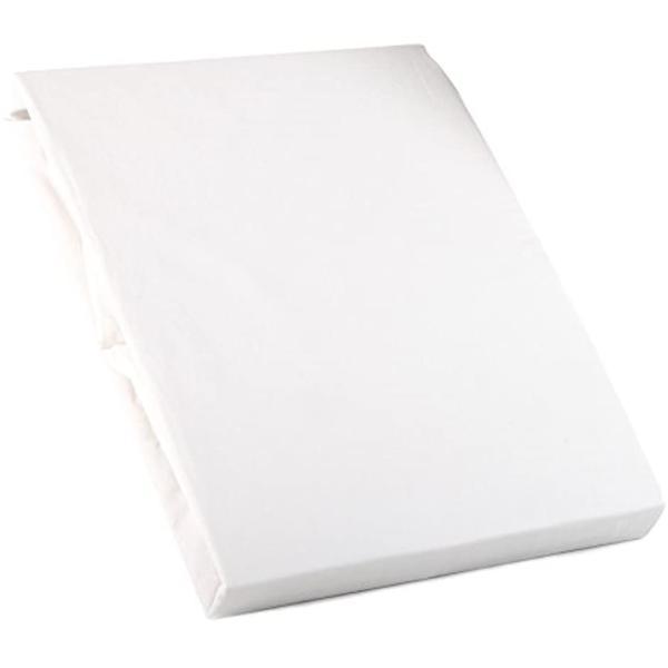 ホームソフト 日本製 200本ブロード コットン100%カバーリング ベッドシーツ(ボックスタイプ) セミダブルサイズ ピュア [ホワイト] / I|sevenleaf