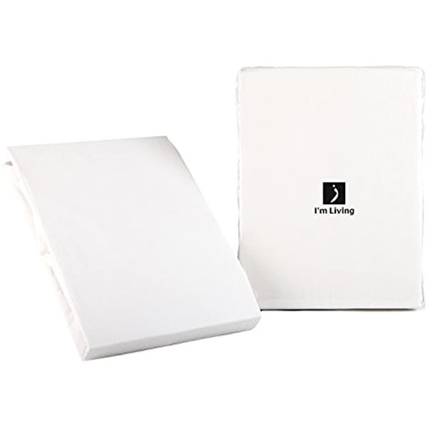 ホームソフト 日本製 200本ブロード コットン100%カバーリング ベッドシーツ(ボックスタイプ) セミダブルサイズ ピュア [ホワイト] / I|sevenleaf|02