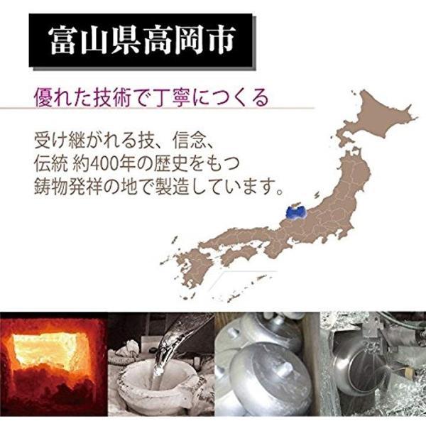 北陸アルミ フライパン IHハイキャスト 20cm 「オール熱源対応」[E525278H](ブラック, フライパン20cm)|sevenleaf|06