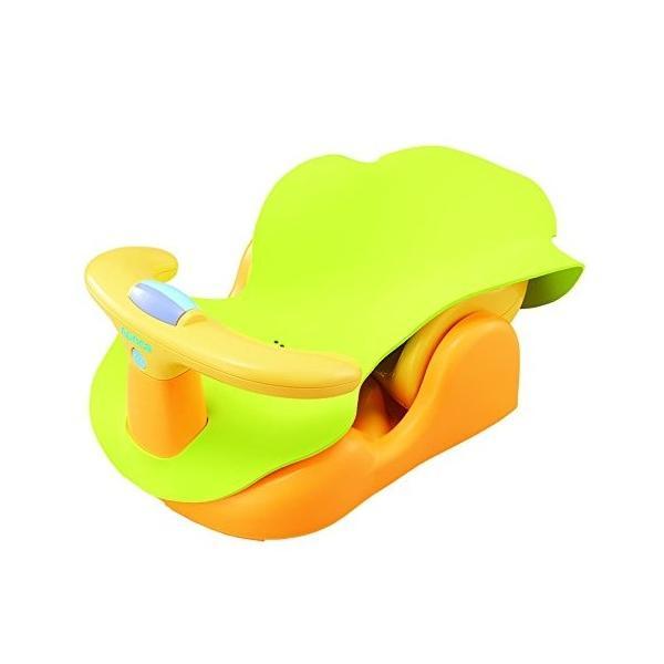 Aprica バスチェアー 新生児から はじめてのお風呂から使えるバスチェア YE 91593[YE 91593](イエロー) sevenleaf 12