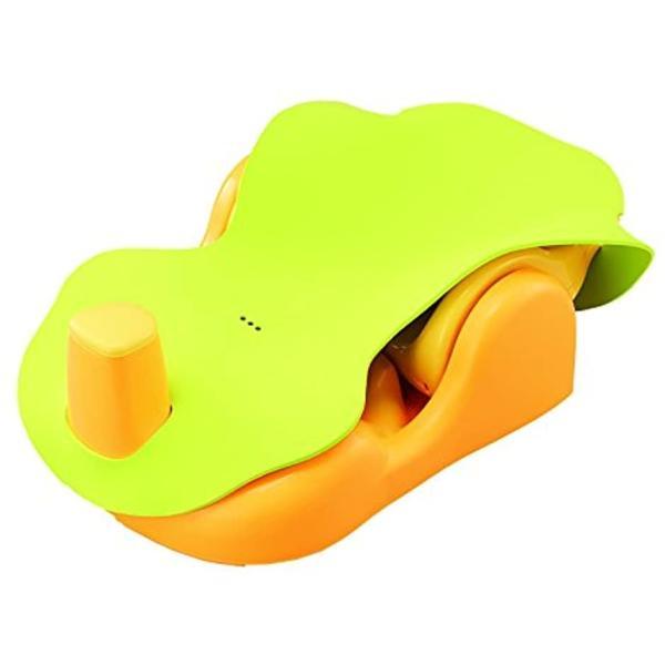 Aprica バスチェアー 新生児から はじめてのお風呂から使えるバスチェア YE 91593[YE 91593](イエロー) sevenleaf 09