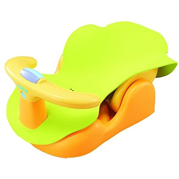 Aprica バスチェアー 新生児から はじめてのお風呂から使えるバスチェア YE 91593[YE 91593](イエロー) sevenleaf 10