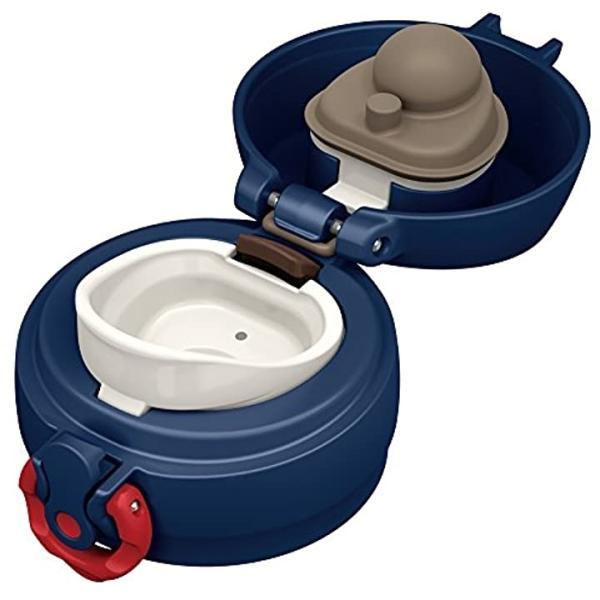 水筒 真空断熱ケータイマグ ワンタッチオープンタイプ 500ml レッドチェック JNL-502G RC[JNL-502G RC](レッド)|sevenleaf|05