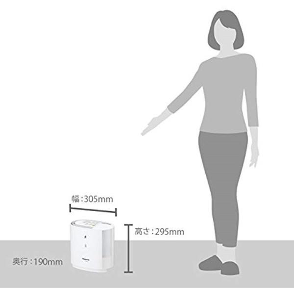 加湿機 気化式 〜8畳[FE-KFM03-W](ホワイト)