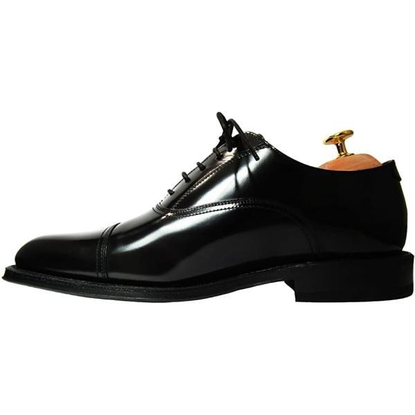 シューツリー シューキーパー 木製 靴磨きクロス付き 23.5-24.0cm(ブラウン, 23.5〜24.5 cm)|sevenleaf|08