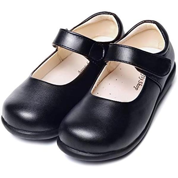 57b4713f3acaa フォーマルシューズ フラット パンプス 4歳-12歳 女の子 21.0cm(ブラック