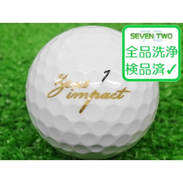 ロストボール キャスコ ゼウス インパクト 2 高反発 非公認 2019年モデル 1個 当店Cランク 中古 ゴルフボール