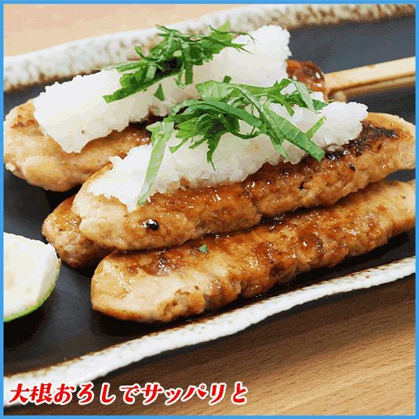 鶏つくね串 35g ×10本 ポイント 消化 焼き鳥 冷凍食品 粗びき 国産鶏肉使用 sfd-ymd 05