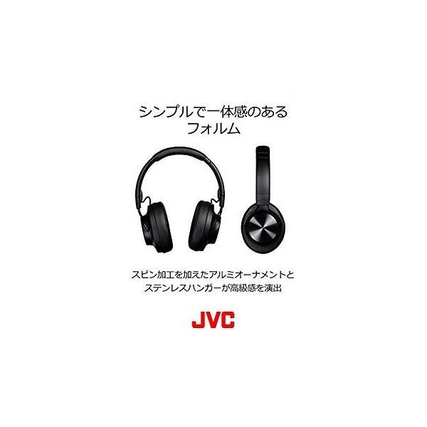 JVC HA-SD70BT ワイヤレスヘッドホン 高音質化技術 K2テクノロジー搭載/連続20時間再生/Bluetooth・ハイレゾ対応/折|sfida-shop|04