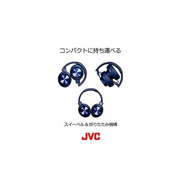JVC HA-SD70BT ワイヤレスヘッドホン 高音質化技術 K2テクノロジー搭載/連続20時間再生/Bluetooth・ハイレゾ対応/折|sfida-shop|06