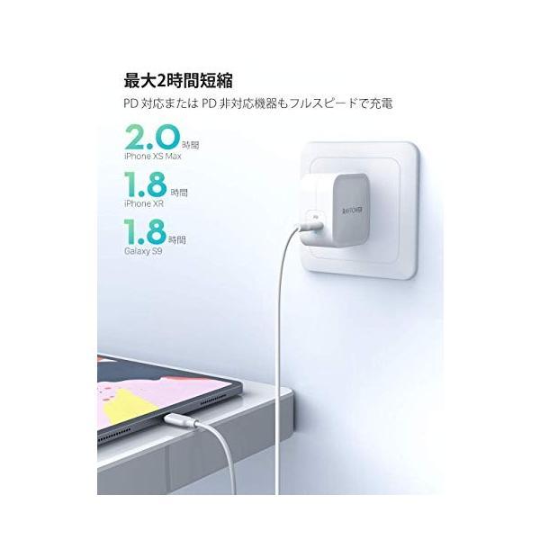 RAVPower 61W USB-C 急速充電器(世界最小最軽量クラス/2019年9月時点)【GaN (窒化ガリウム) 採用/折畳式/PD 3.0対応 sh-price 05