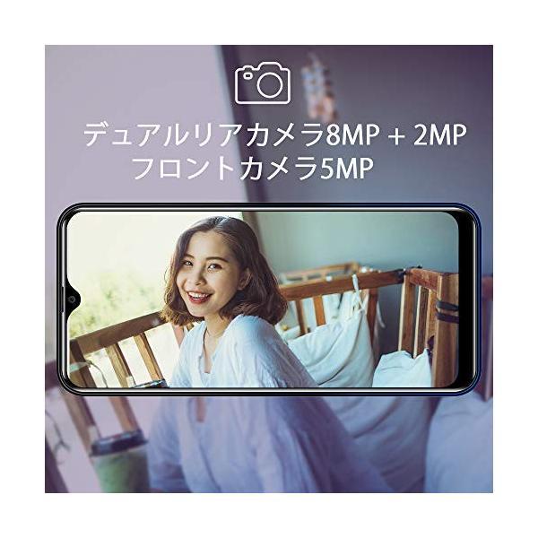 OUKITEL C15 Pro+ 4G SIMフリースマートフォン本体 3GB RAM+32GB ROM 6.1インチHD+大画面Android 9.|sh-price|06