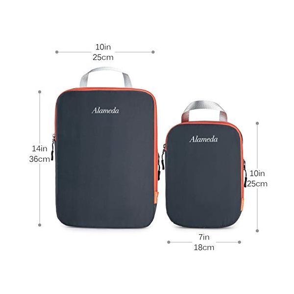 パッキングキューブ3袋セット、旅行用、圧縮袋、荷物/バックパックの整理整頓|sh-price|02