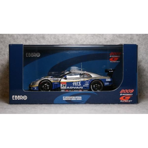 エブロ 1/43 エイチ・アイ・エス アドバン コンドー GT-R スーパーGT GT500クラス No.24 2009