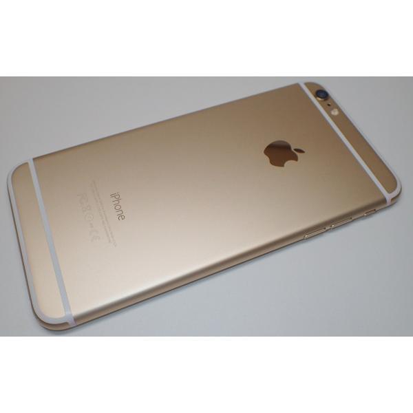 Apple SoftBank iPhone6 Plus 64GB A1524 (MGAK2J/A) ゴールド|shake-hand|03