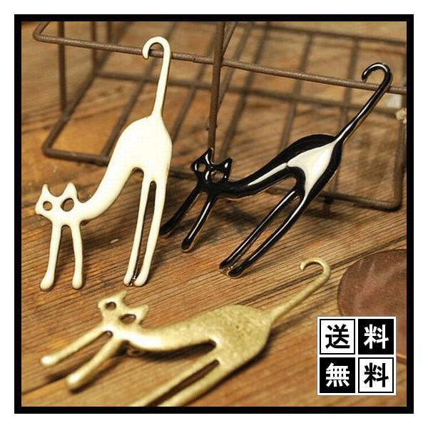 猫ブローチ エナメルアンティークテイストがセール価格で送料無料|shalalacoat-store
