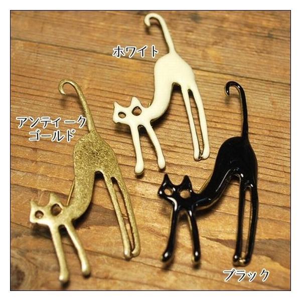 猫ブローチ エナメルアンティークテイストがセール価格で送料無料|shalalacoat-store|02