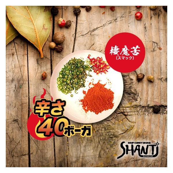辛さ40ボーガ <棲魔苦(スマック)>|shanticurry