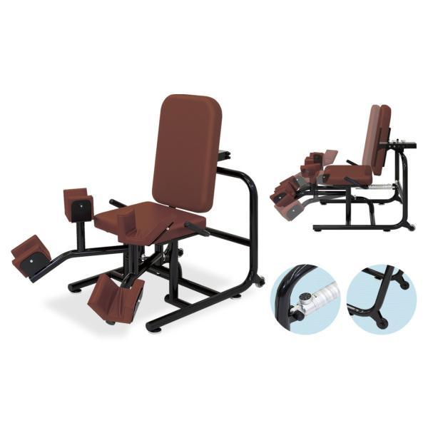 (受注生産品)(デイサービス 運動器具)高田ベッド パワーリハビリAAD(股関節の内転・外転筋肉の運動)TB-813