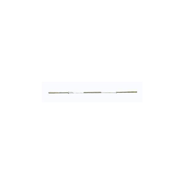 (バーベルシャフト)STEELFLEX 120cm 28mm孔径バーベルシャフト No.30