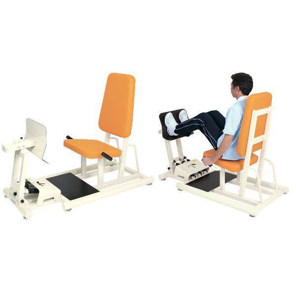 (受注生産品)高(リハビリ器具)高田ベッド レッグプレDXII(両足の運動)TB-1217