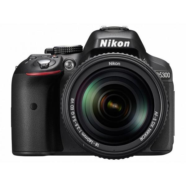 デジタル一眼カメラ Nikon D5300 18-55 VR IIレンズキット [ブラック][新品即納]