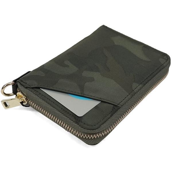 Keys 財布 二つ折り財布 ハーフウォレット ICカード ファスナー カモ 迷彩柄 メンズ レディース|share-stylish|06