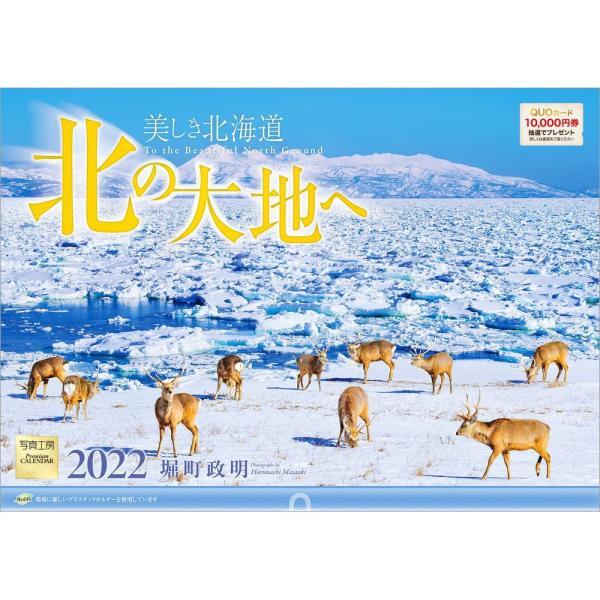 カレンダー2021 壁掛け 「北の大地へ 〜 美しき北海道」写真 お洒落 風景 絶景 北海道 ギフト スケジュール|shashinkoubou