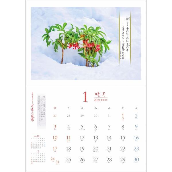 カレンダー2021 壁掛け 「万葉の風景 〜 令和の時代にひもとく」お洒落 人気 プレゼント 風景 写真 絶景 スケジュール|shashinkoubou|06