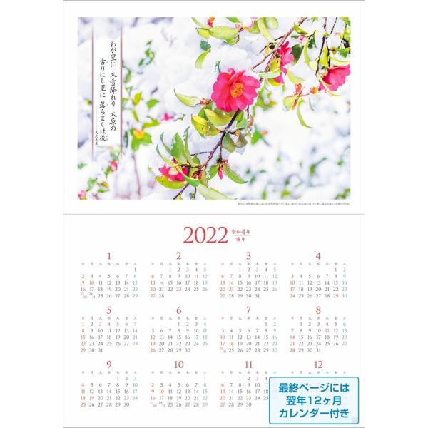 カレンダー2021 壁掛け 「万葉の風景 〜 令和の時代にひもとく」お洒落 人気 プレゼント 風景 写真 絶景 スケジュール|shashinkoubou|07