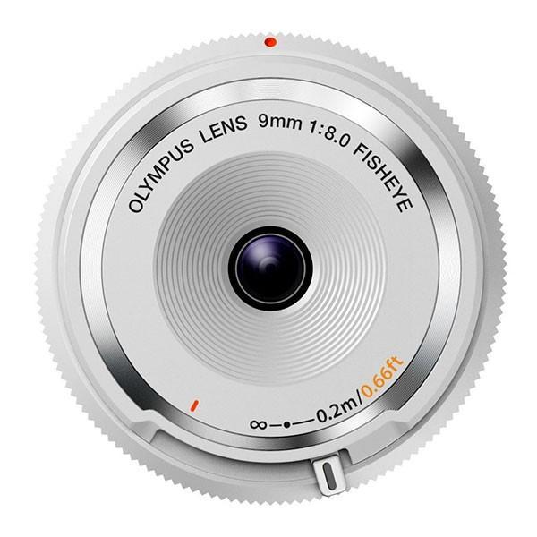 オリンパス BCL-0980 WHT フィッシュアイボディーキャップレンズ ホワイト