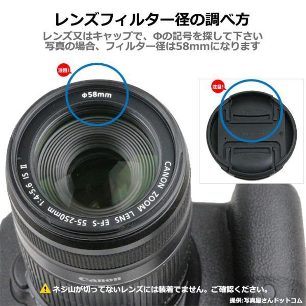 【メール便 送料無料】 ユーエヌ UNX-9514 ワンタッチレンズキャップ 95mm