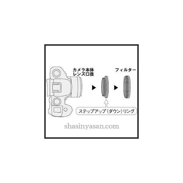 【メール便 】 マルミ光機 ステップダウンリング 62→58mm径フィルター用 【即納】