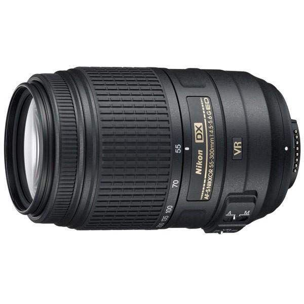 ニコン AF-S DX NIKKOR 55-300mm f/4.5-5.6G ED VR 望遠ズームレンズ