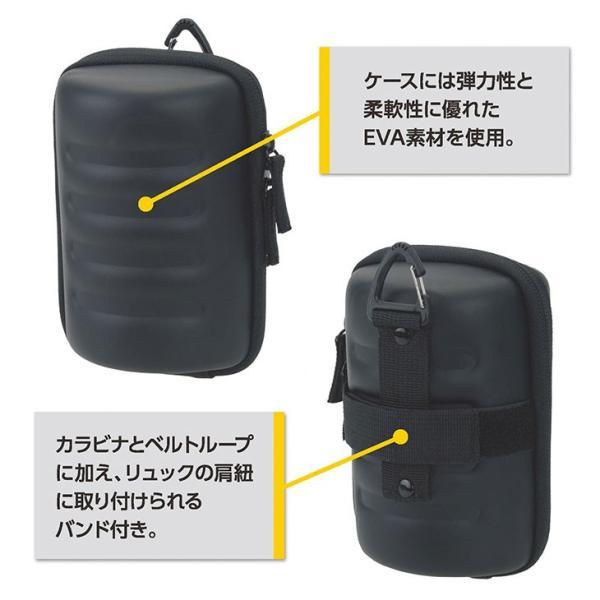 エツミ VE-6901 セミハードレンズケースL ネイビー 【送料無料】