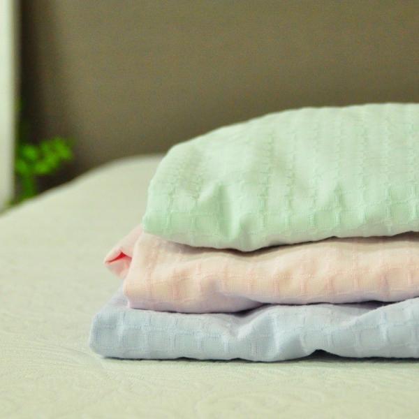 ボックスシーツ シングルサイズ 敷布団カバー 綿ワッフル 日本製 吸水速乾 オールシーズン ベッドシーツ チェック 送料無料|sheet-cocoron|05