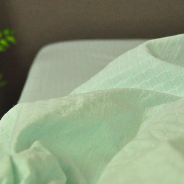 ボックスシーツ シングルサイズ 敷布団カバー 綿ワッフル 日本製 吸水速乾 オールシーズン ベッドシーツ チェック 送料無料|sheet-cocoron|07
